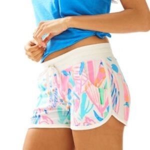 Lilly Pulitzer Chrissy Beach Short Out to Sea
